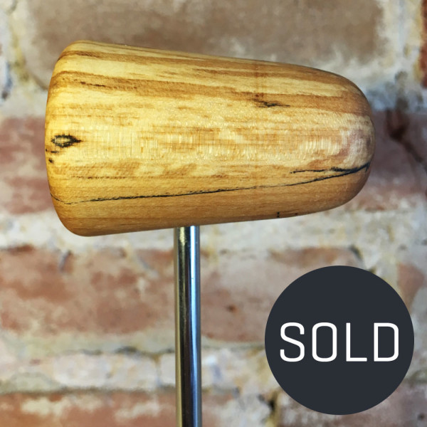 Spalted Maple Bass Drum Beater #11 - Sold