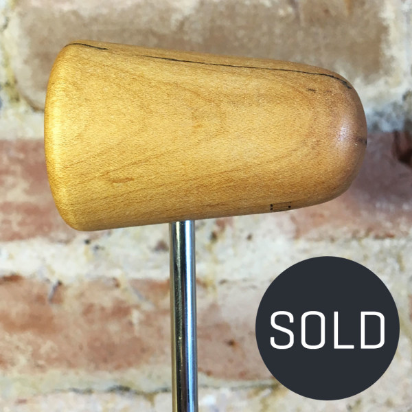 Spalted Maple Bass Drum Beater #13 - Sold