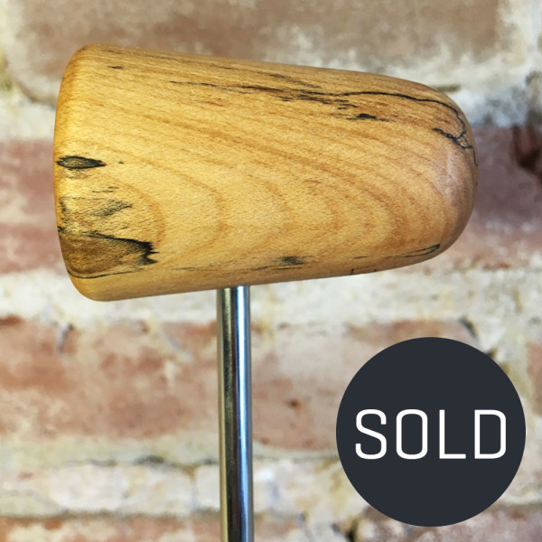Spalted Maple Bass Drum Beater #15 - Sold