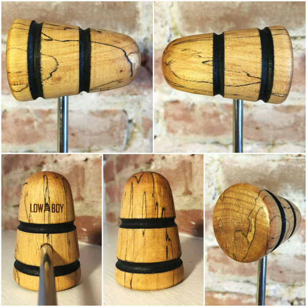 Spalted Maple Bass Drum Beater #20