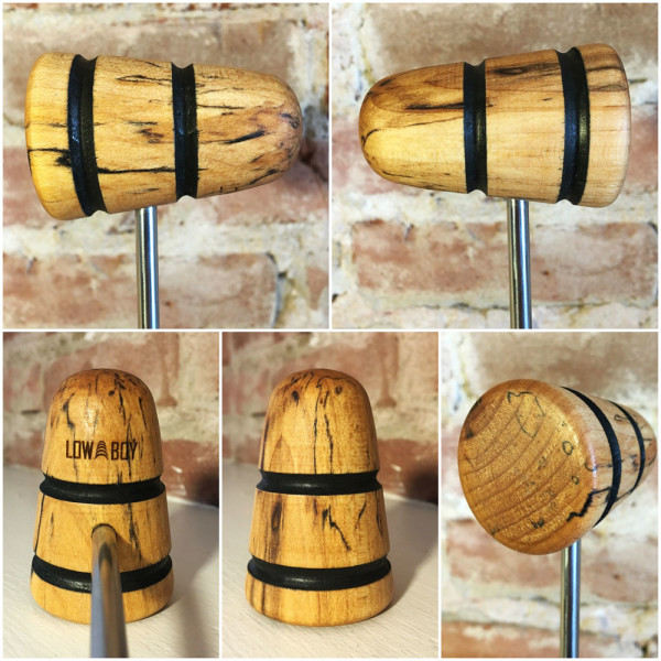 Spalted Maple Bass Drum Beater #22