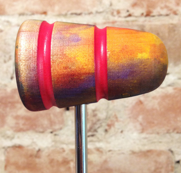 SuperSonic Girl Wood Bass Drum Beater