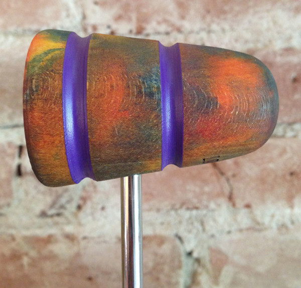 Twisted Light Wood Bass Drum Beater