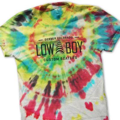 Low Boy Tie Dye Tee Shirt