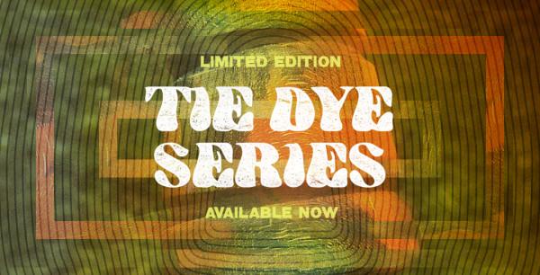 Tie Dye Wood Bass Drum Beaters Banner